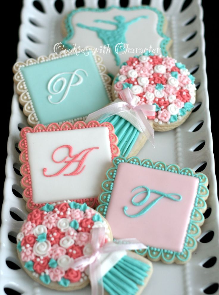 Cookies with Character: Grandma's Ballet Birthday