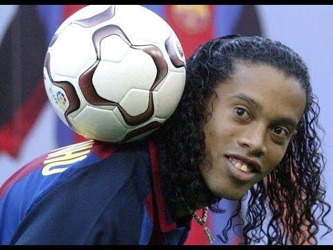 La magia de Ronaldinho, jugadas, goles, burladas, skills, control de balon - YouTube