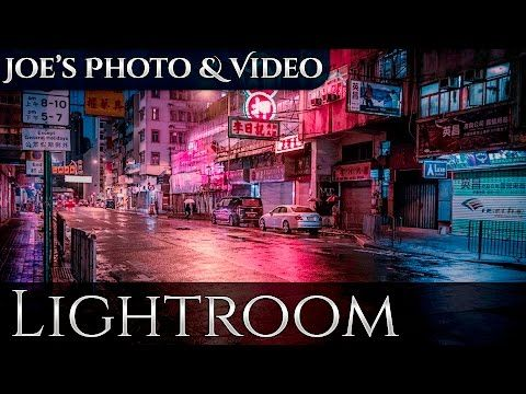 Cinematic Color Toning & Street Photography | Lightroom 6 & CC Tutorial - YouTube