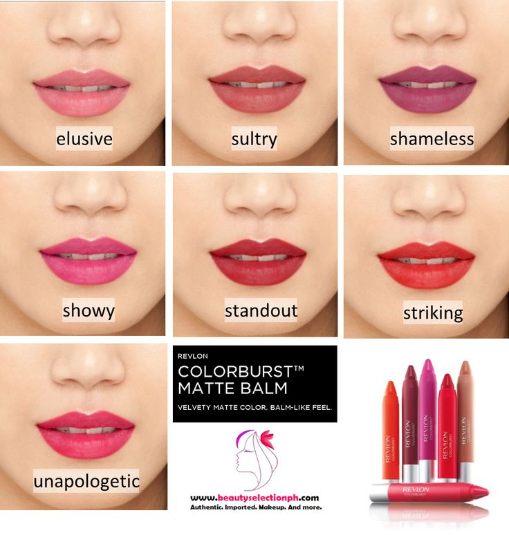 I love these not drying on the lips REVLON COLORBURST™ MATTE BALM