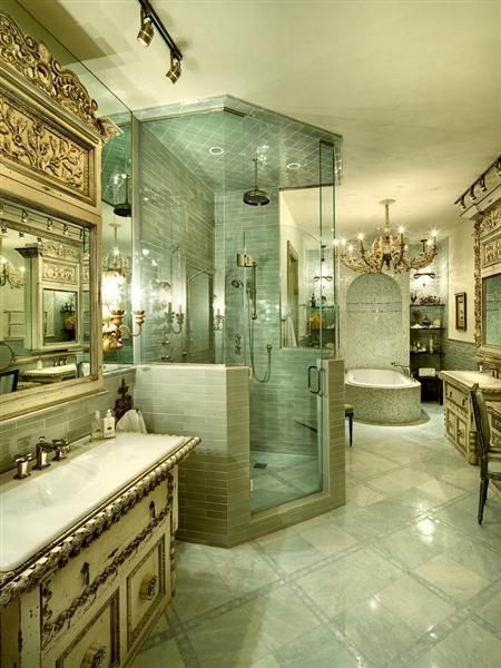 182 best images about staged bathrooms on pinterest for Amazing master bathrooms