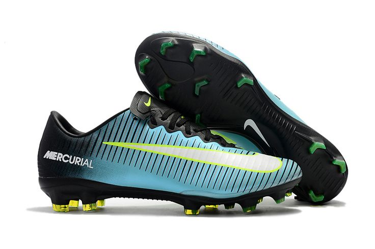 2017 New Nike Mercurial Vapor XI Boots ,  Nike Mercurial Vapor XI FG Light Blue Black Volt | Free shipping fee | Up to 50% off check out  @ sportskick.uk