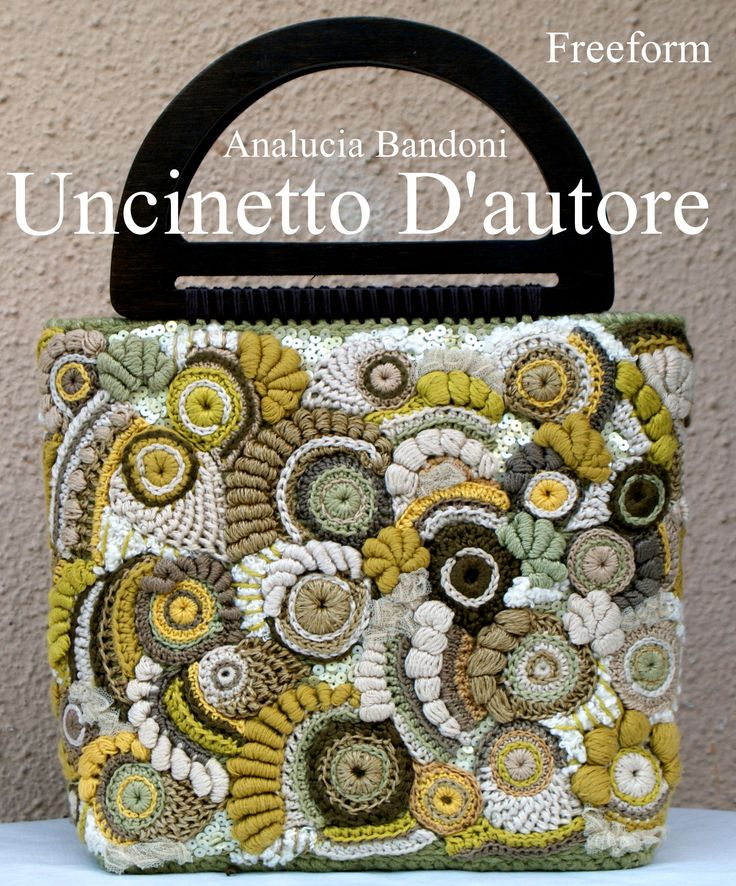 Freeform crochet bag borsa uncinetto bolsa croche