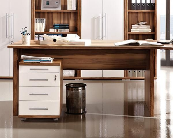Sector by Germania Contemporary Desk in Walnut 2 Size Options   See more  at  https. 26 best Modern Home Office Furniture images on Pinterest   Office