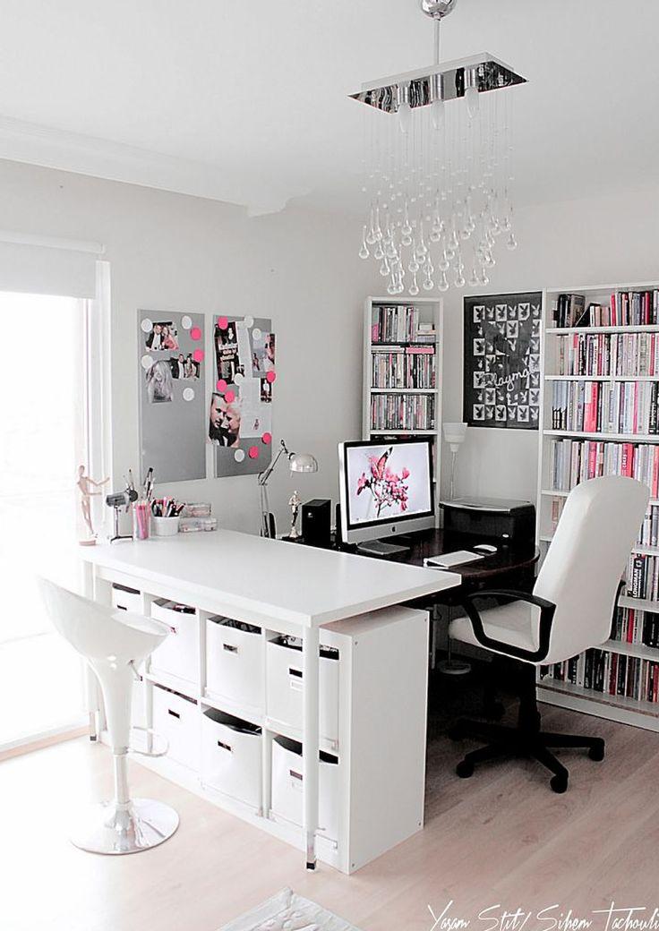 Blue Office Decor