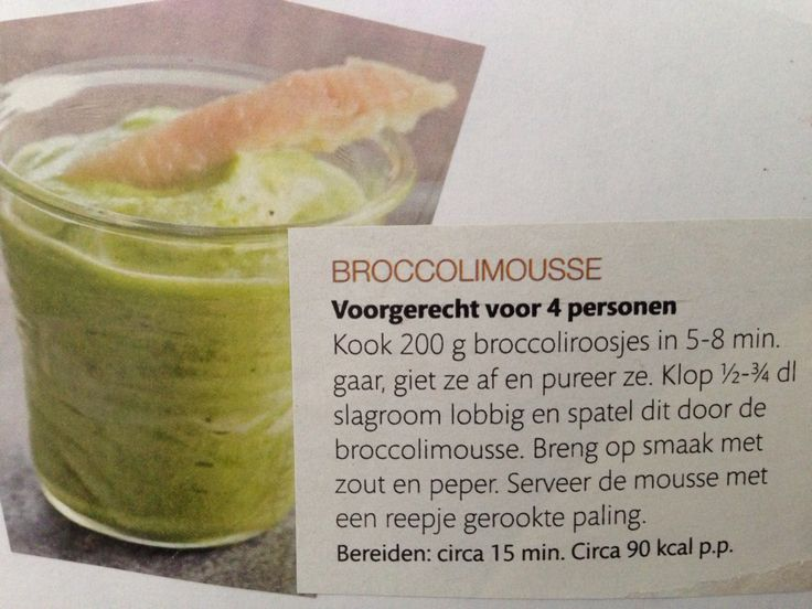 Broccolimousse