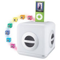 iHome LED Color-Changing Speaker System with Built-In Subwoof (IH15W)