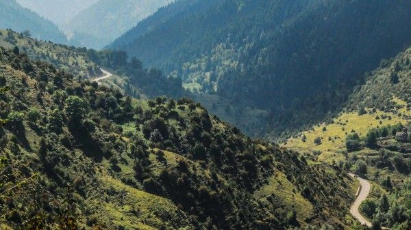motorcycle roads : one of the most exciting motorcycle rides in Greece, the route through Tzoumerka region