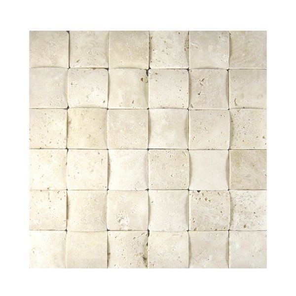 You 39 Ll Love The 3d Honed 2 Amp Quot X 2 Amp Quot Natural Stone Mosaic Tile In Nysa At Wayfair Great Deals O Stone Mosaic Tile Stone Mosaic Mosaic Tiles
