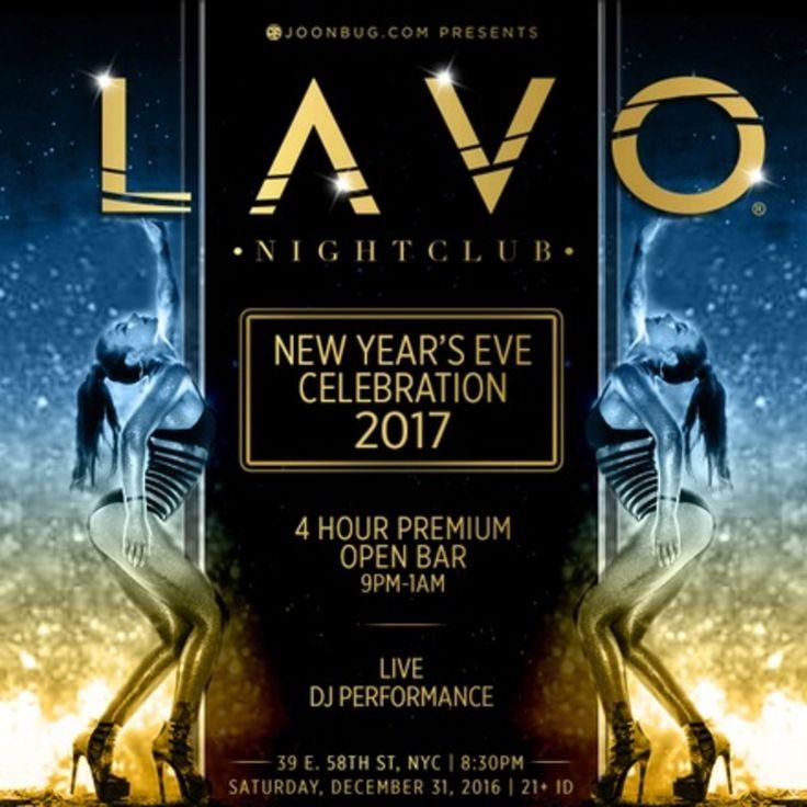 LAVO Nightclub NYE 2017 New York City - http://nyenyc.party/2016/11/15/lavo-nightclub-nye-2017-new-york-city/