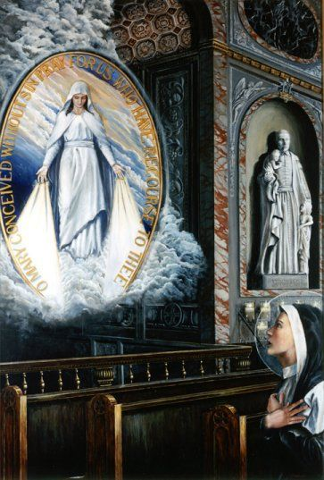 St.Catherine Laboure and the Miraculous Medal