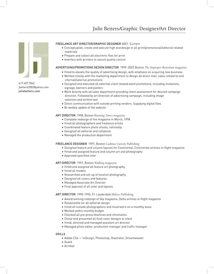 28 best Resume Inspiration images on Pinterest | Resume ideas ...