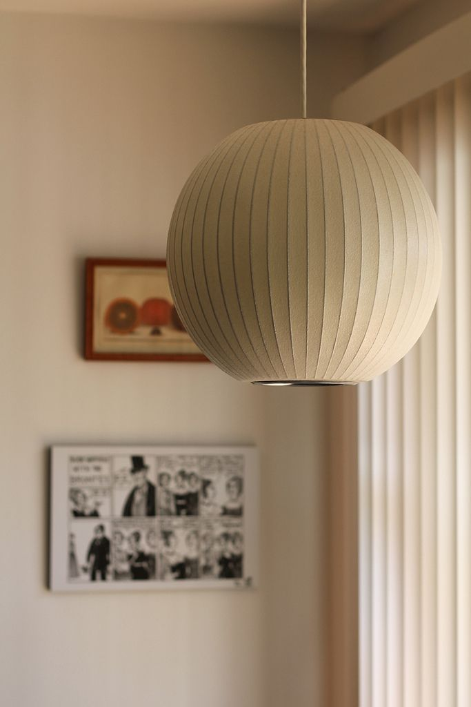 Bu Carlssa Via Flickr | George Nelson Ball Lamp