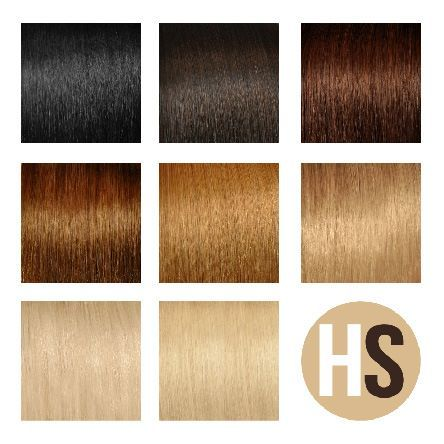Natural human hair clip-in extensions HAIRSELF www.hairself.pl