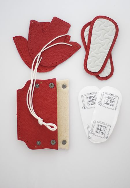 Natural durable leather and high quality styrogum soles make First Baby Shoes perfect for first steps.