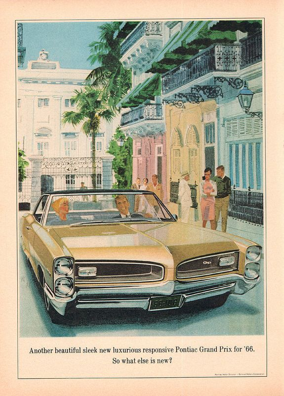 1966 pontiac grand prix advertisement newsweek december 13 1965