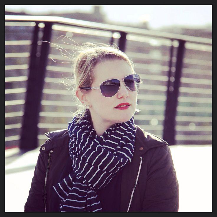 Stripes skarf