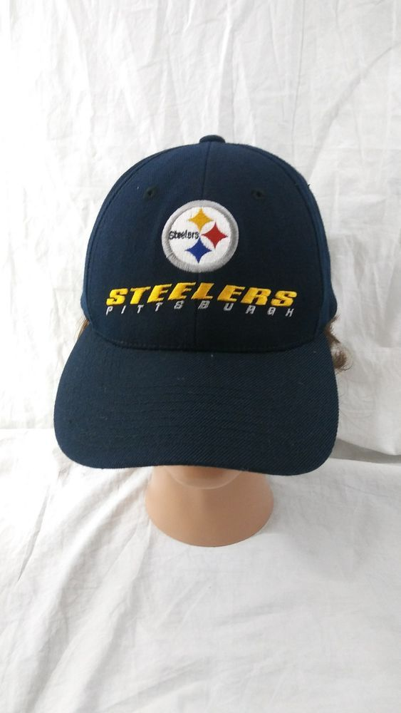 Pittsburgh Steelers Baseball Cap Black Snapback Hat NFL Football   PittsburghSteelers 15bf5b0ad24