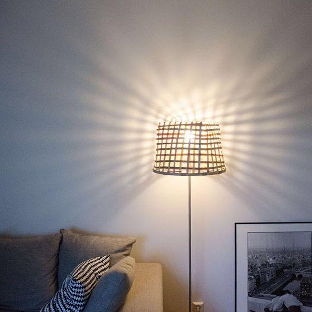 This basket lamp DIY is super easy. More on the blog! #linkinbio ⠀  ⠀  #moreontheblog #newblogpost #uusiblogipostaus #korilamppu #diy #basketlamp #lamp #diylamp #doityourself #teeseitse #diyideas #diyers #bloggers #blog #blogi #igers #picoftheday #interior #decor #sisustus #diyinterior #home #diyhome #diyproject