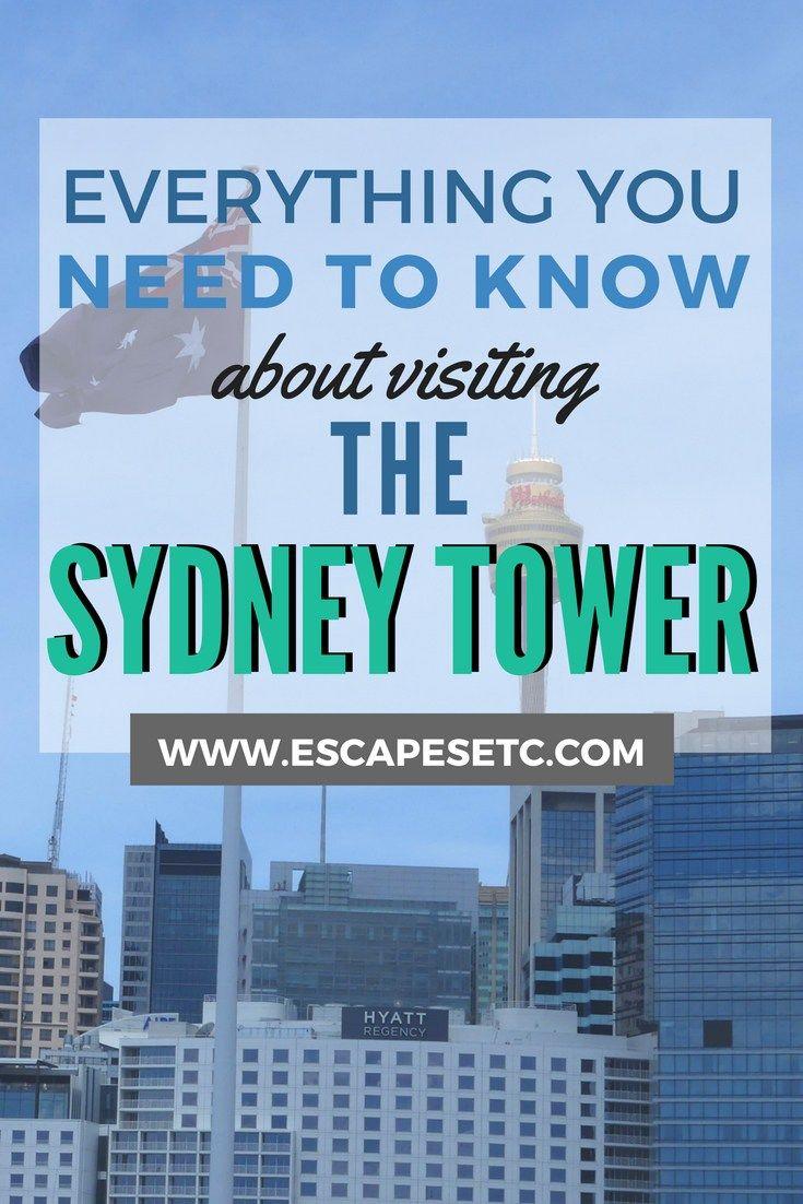 Soaking In The City Views At The Sydney Tower Escapes Etc Sydney Australia Travel Australia Tourism Visit Sydney