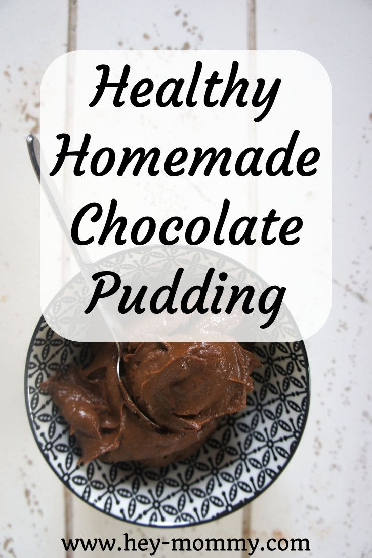 Healthy and delicious homemade chocolate avocado pudding, just like chocolate pudding! Naturally sweetened with bananas . Quick and healthy dessert. #healthyfood #healthyrecipes #avocado #chocolate #healthy #dessert