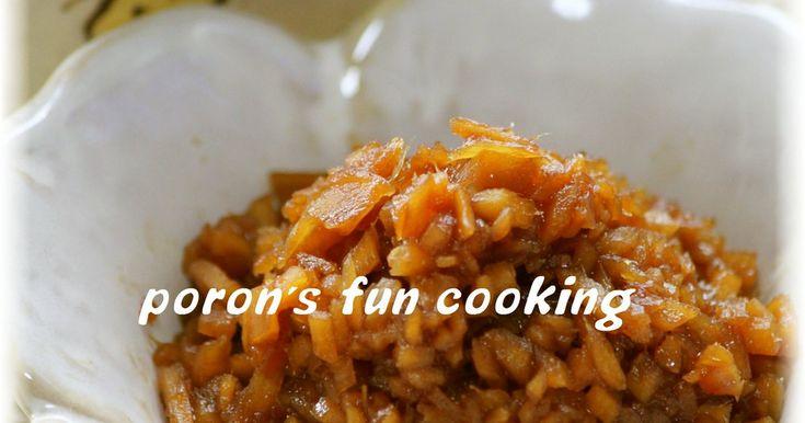 常備菜*生姜の佃煮*混ぜご飯にも♬ by ぽろん526 [クックパッド] 簡単おいしいみんなのレシピが245万品