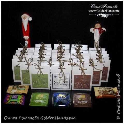 Новогодние чайные сувениры | Страна Мастеров