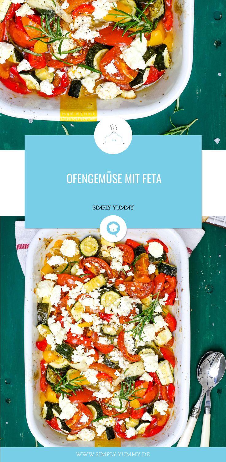 Ofengemüse mit Feta   – Rezepte von SIMPLY YUMMY