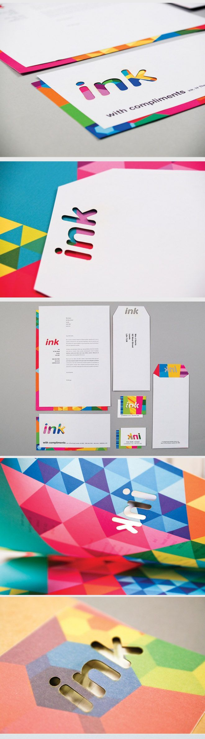 35 Creative and Beautiful Branding Identity Design examples. Follow us www.pinterest.com...