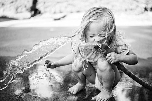 If this doesn't desribe childhood at it's finest, I don't know what does.: Water Plays, Summer Day, Summertime Drinks, Water Hose, Pictures, Children, Kids, Baby, Summer Photo