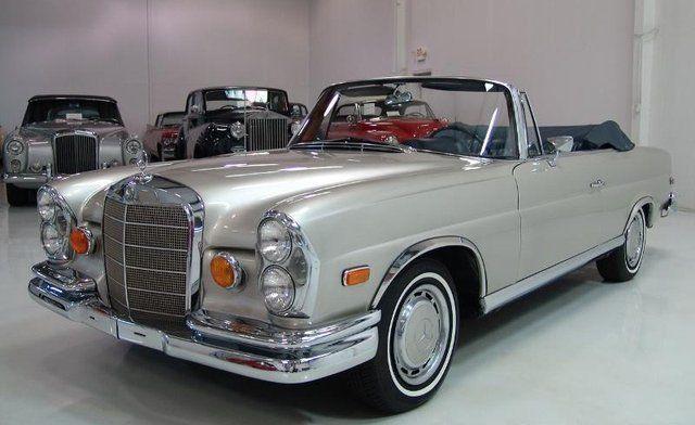 1965 M.B. 220 SE
