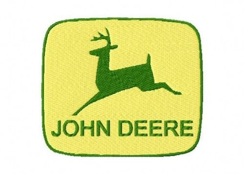 John Deere Emblem Embroidery Designs : John deere machine embroidery design susiesstitches