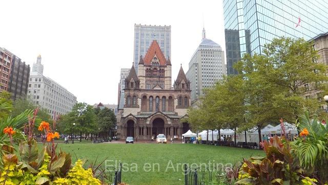 Trinity Church - Tour Hancock à Boston
