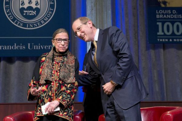 Of the 112 Supreme Court justices in American history, four have been women. Statistically speaking, they get interrupted. A lot. By men. That means not even Ruth Bader Ginsburg is safe — though she has managed to get interrupted less over time — according to a new study by Northwestern University's Pritzker School of Law.