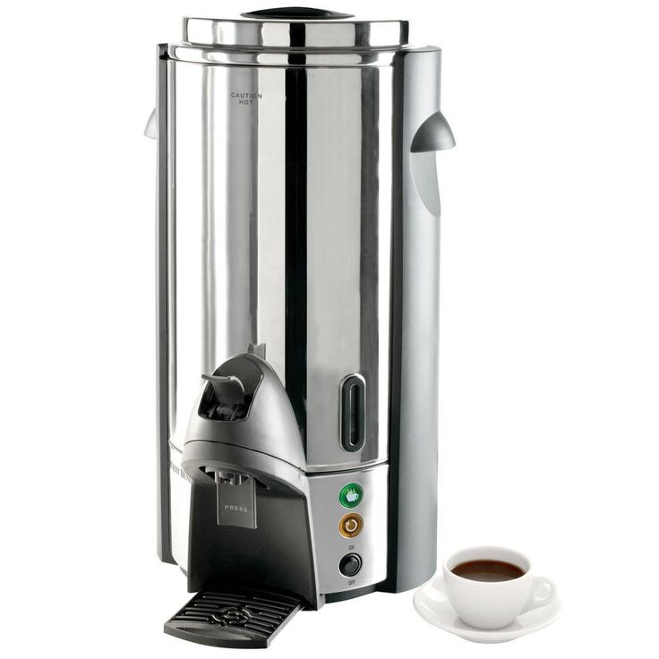west bend 100 cup stainless steel coffee urn 1640w use