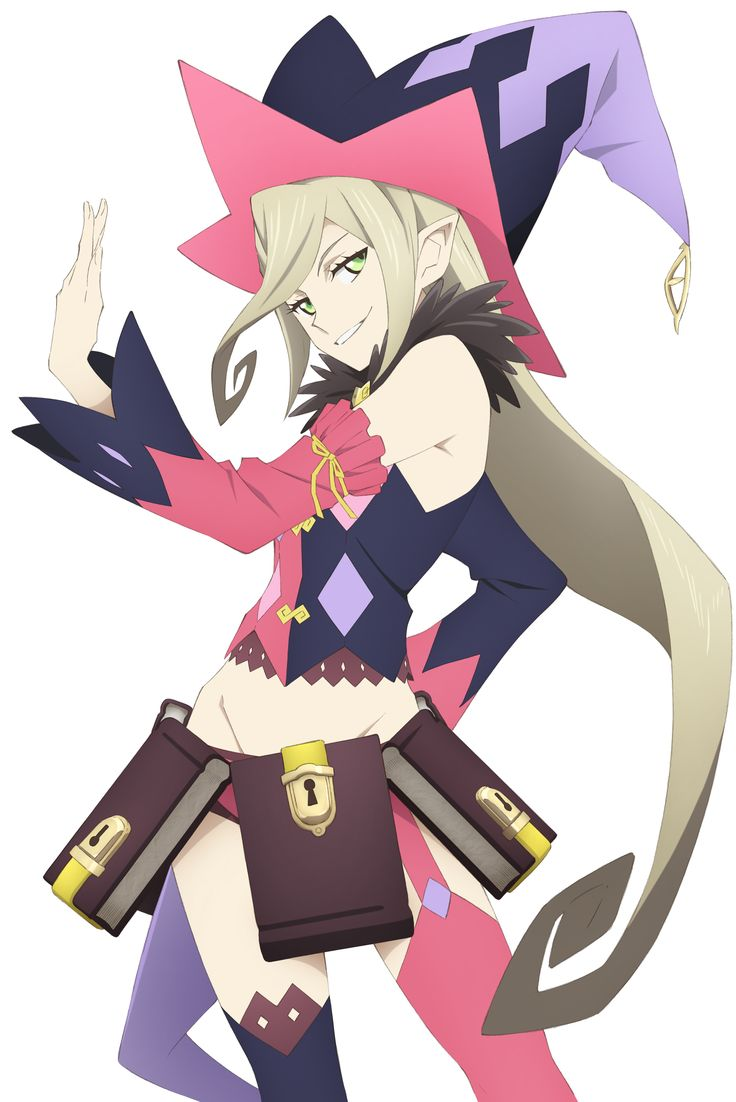 Download Tales of Berseria: Magilou (2350x3520) - Minitokyo