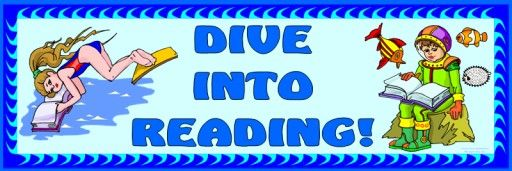 """FREE DOWNLOAD:  5 page bulletin board display banner """"Dive Into Reading!""""  This banner can be used in your classroom as a title for a reading bulletin board display with an ocean theme.  Download this free 5 page banner on Unique Teaching Resources:  http://www.uniqueteachingresources.com/book-reports.html  (FREE!)"""
