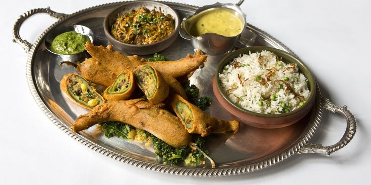 Chef Vivek Singh's recipe for a delicious vegetarian starter, combining authentic fenugreek, chilli and chickpea.