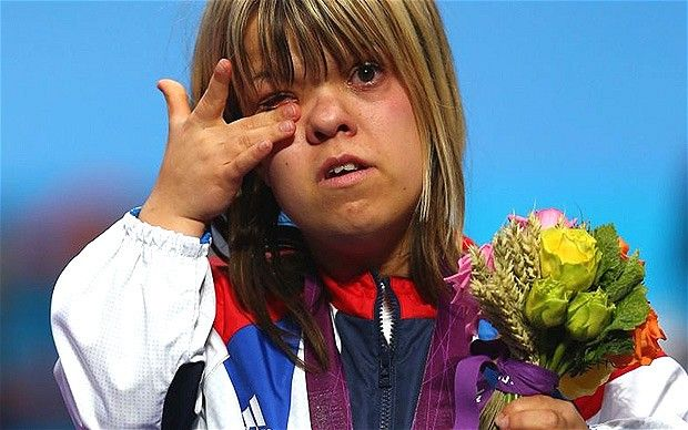 Zoe Newson - Paralympics 2012, Britain's Zoe Newson wins bronze in powerlifting as Turkey's Nazmiye Muslu breaks records