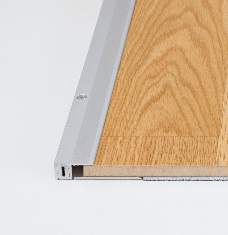 Meister UK Universal End Profile: Suitable for covering the expansion gap running along patio doors, fire places etc where a flat smooth finish is required.