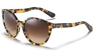 Miu Miu Rounded Vintage with Wave Sunglasses