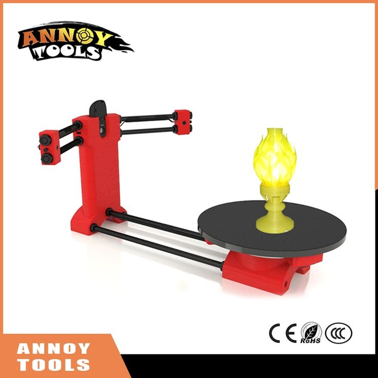 92.64$  Watch now - http://alid8l.shopchina.info/1/go.php?t=32815066954 - High quality 3d scanner DIY kit, Open source 3D scanner, Red plastic injection molding parts 92.64$ #magazine