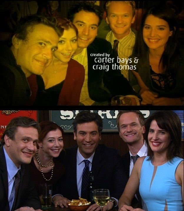 "Because of this symmetry between the start and the end of the show. | 34 Reasons ""How I Met Your Mother"" Was The Cleverest Show On TV"