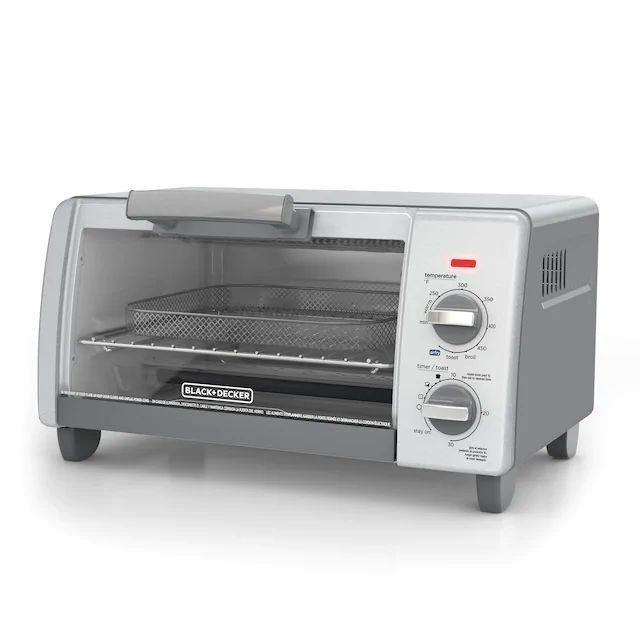 BLACK+DECKER™ Crisp 'N Bake Air Fry 4-Slice Toaster Oven ...
