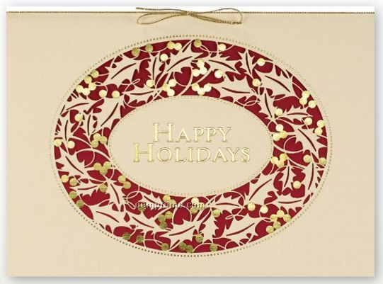 Laser Cut & Layered Holiday Card | Cards - Christmas | Pinterest: pinterest.com/pin/470766967268441521