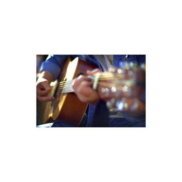Guitar 2 Photographic Wall Art Print ($18) ❤ liked on Polyvore featuring home, home decor, wall art, photography posters, guitar wall art, photographic wall art, guitar poster and photography wall art