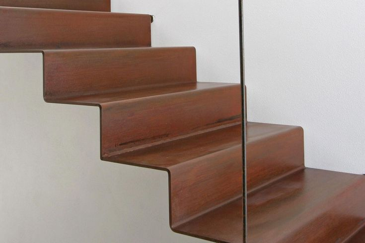 D-216   architectural stairs, stairs in steel, staircases in metal