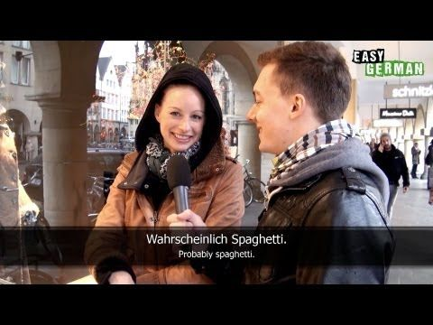 "Easy German videos on YouTube - interviews with ""real Germans"" on the street, with subtitles. Great for learning!"