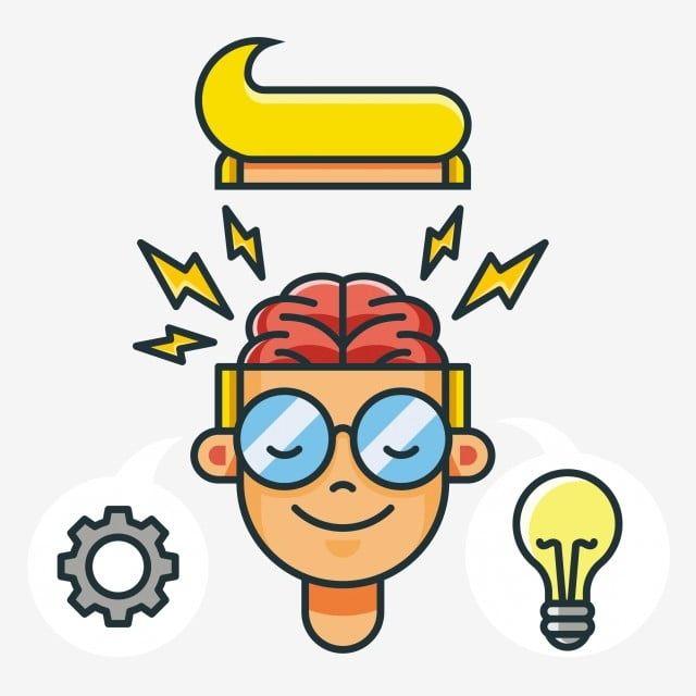 Cartoon Brain Glasses Glasses Boy Cartoon Cartoon Boy Personality Boy Brain Personality Personal Brain Brain Vector Carto Cartoon Brain Cartoons Vector Cartoon