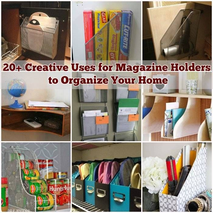 20 Easy Diy Ideas And Tips For A Perfectly Organized Car: 25+ Best Ideas About Magazine Holders On Pinterest